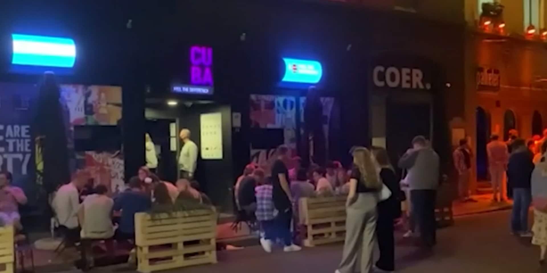 """Une soirée étudiante à Gand dégénère, la police et le recteur interviennent: """"Les étudiants doivent prendre leurs responsabilités"""""""