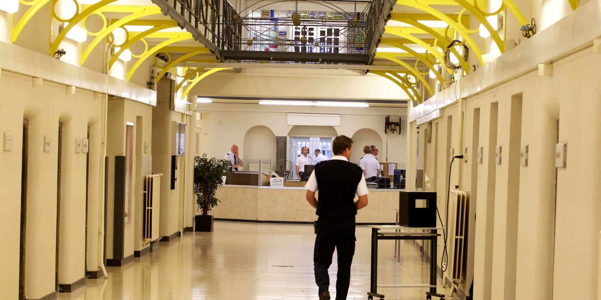 La plupart des prisons flamandes et bruxelloises suivent le mouvement de grève dans les prisons