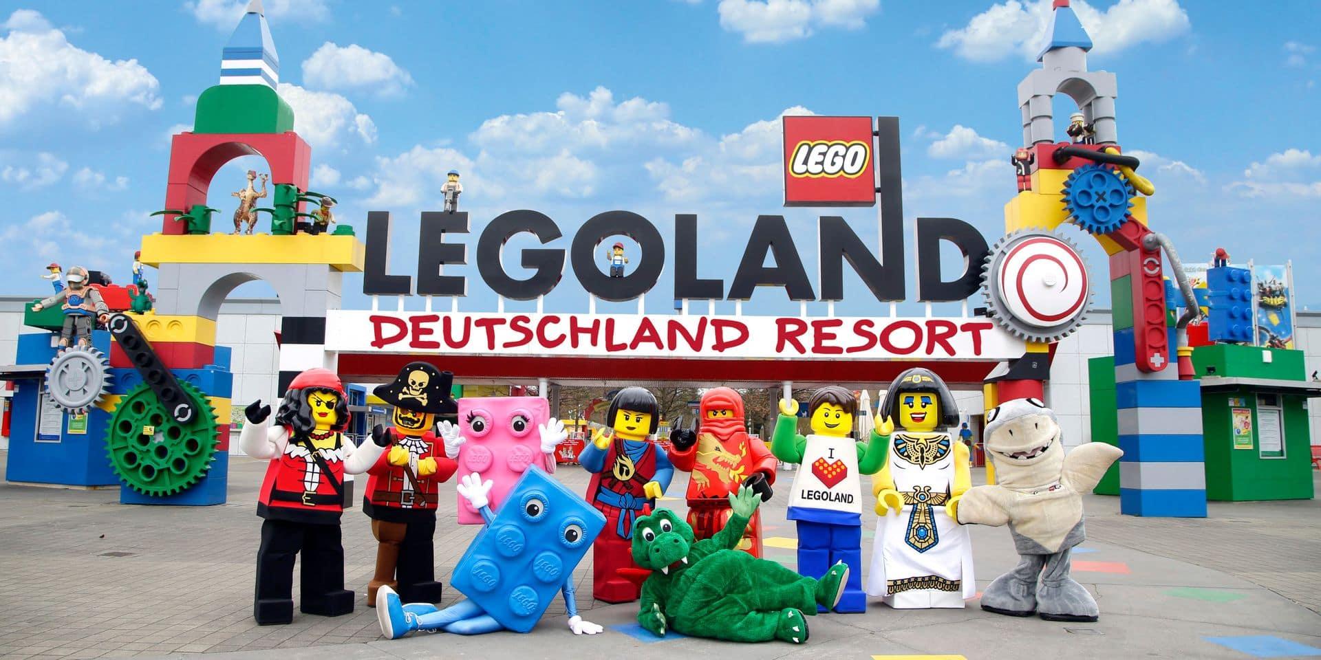 Un Legoland pourrait bien voir le jour à Charleroi: voici à quoi ressemble ce type de parc (PHOTOS)