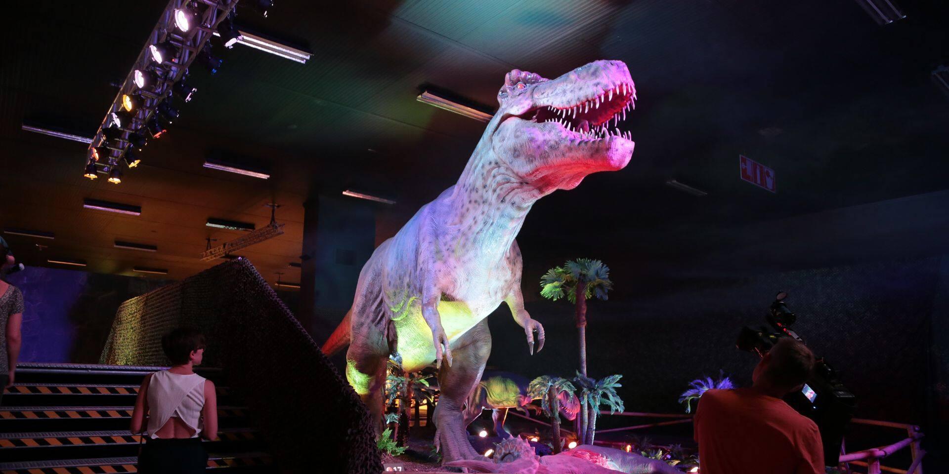 """Une exposition intitulée """"Dino World"""" est de retour en Belgique à partir du 20 mai au Palais 2 de Brussels Expo"""