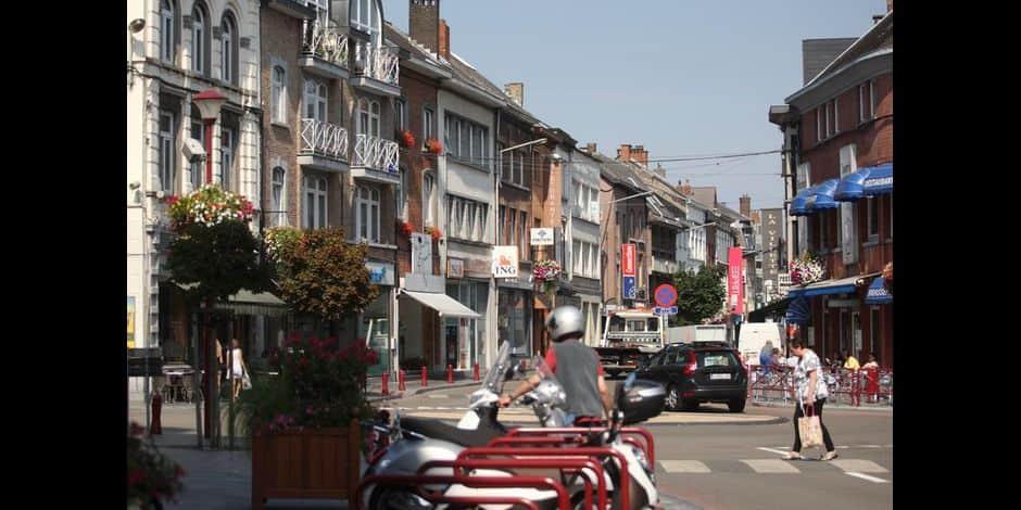 Centre-ville de Wavre - commerces - magasins