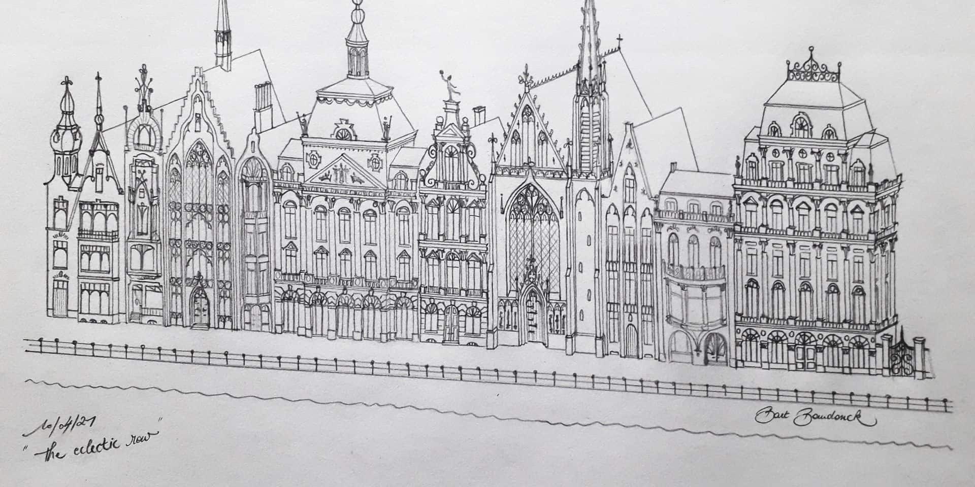 Embellir Liège en remettant l'architecture traditionnelle au cœur des préoccupations