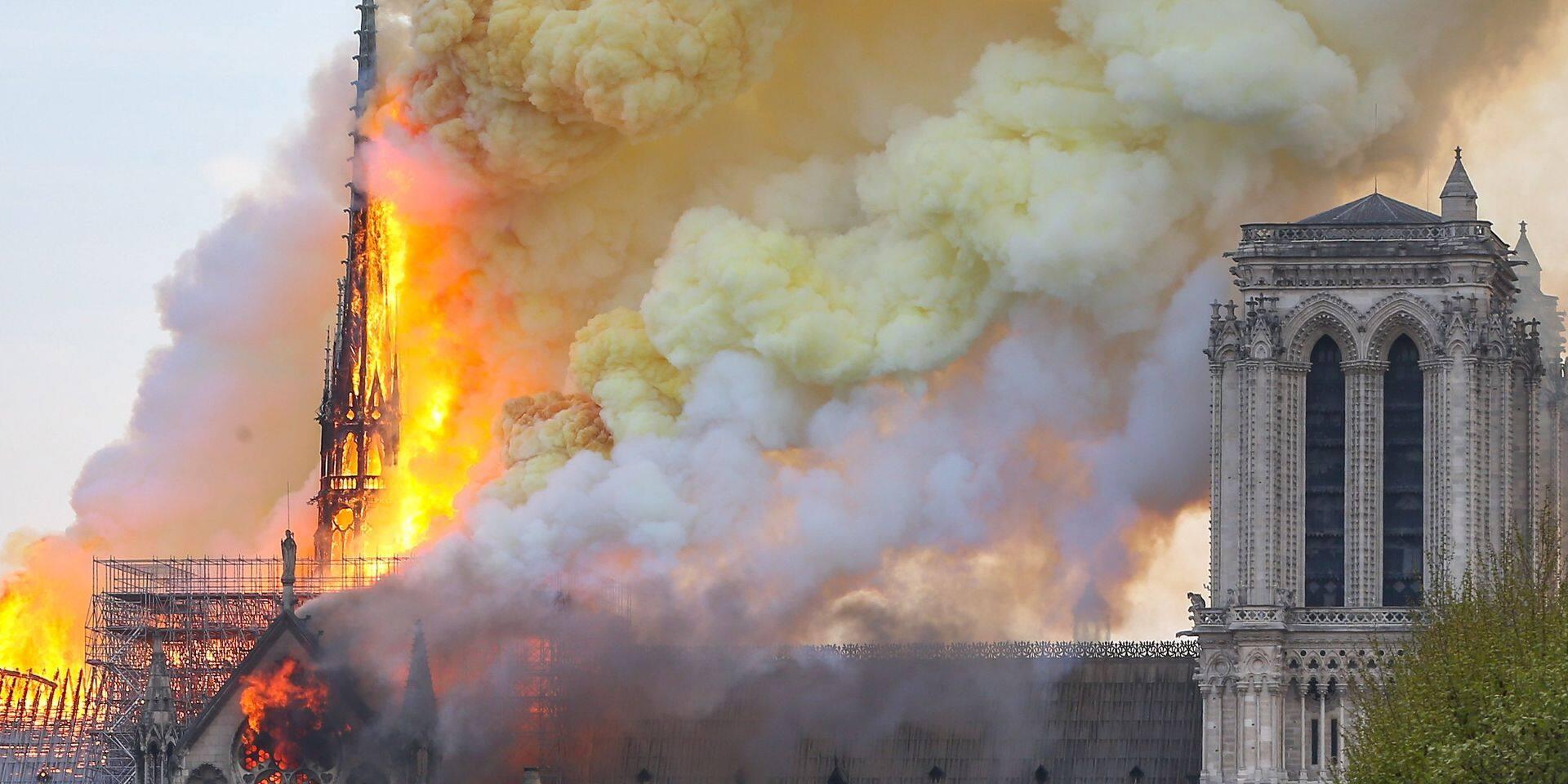 Incendie à Notre-Dame de Paris: une heureuse nouvelle annoncée