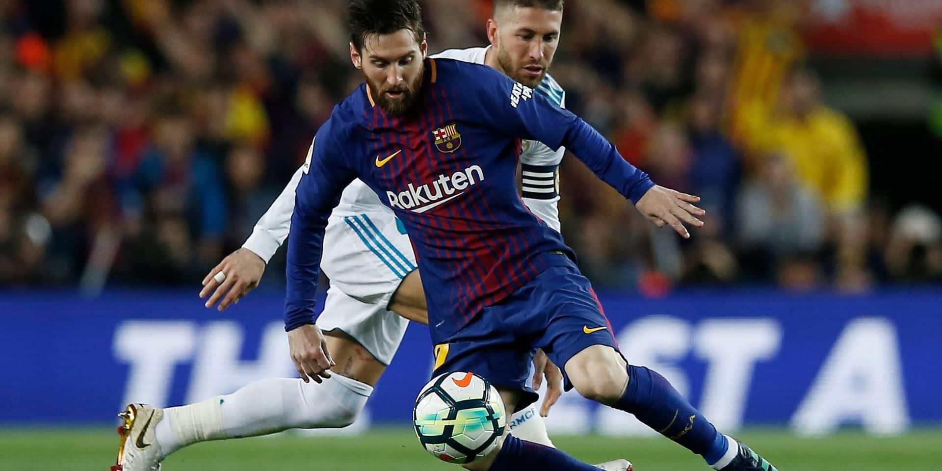 Primera Division: le Barça se heurte au Real 2-2 mais reste invaincu