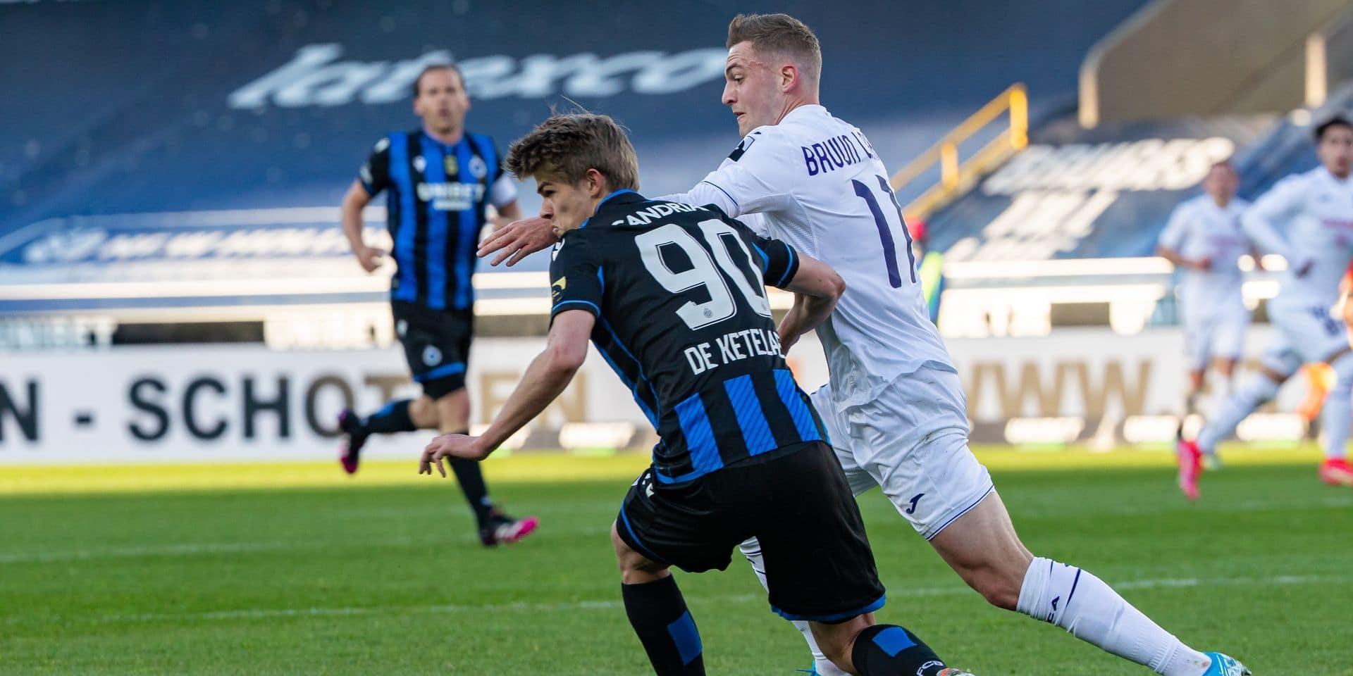 Bruges et Anderlecht se neutralisent au terme d'un Topper complètement fou (2-2)
