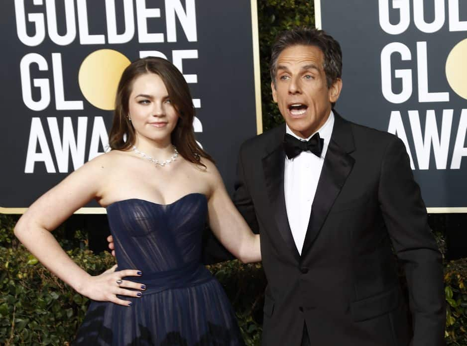 Ben Stiller était venu avec sa fille, Ella.