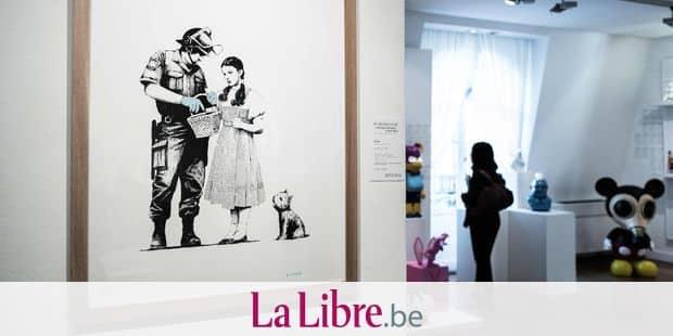 Vente Banksy à Paris: pas de coup d'éclat et des prix bas