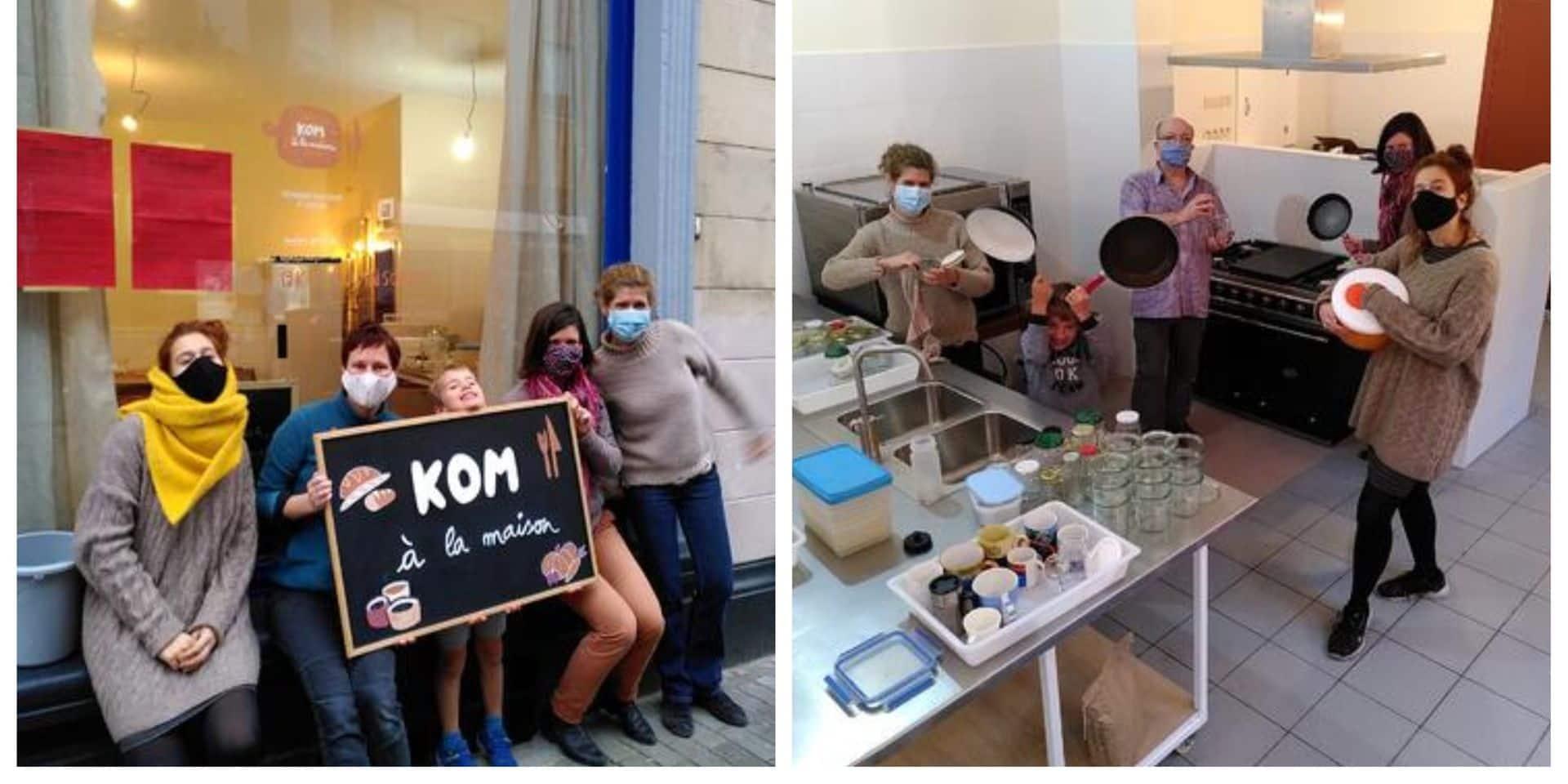 Kom à la maison ouvre ses portes à Etterbeek