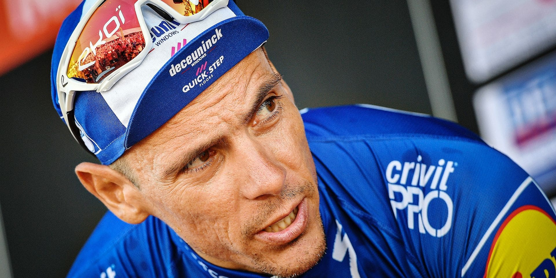 Belgian Philippe Gilbert of Deceuninck - Quick-Step pictured after the Halle Ingooigem one day cycling race, 200,9 km from Halle to Ingooigem, race 5 out of 9 of the Bingoal cycling cup, Wednesday 26 June 2019. BELGA PHOTO DAVID STOCKMAN