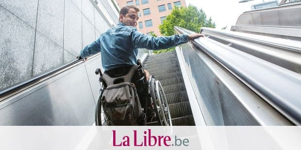 Nino Peeters se bat pour l'accessibilité des PMR dans les transports et les bâtiments publics