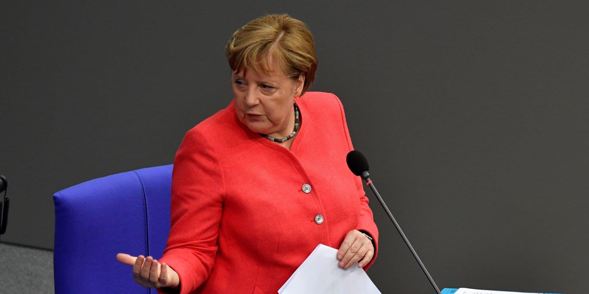 """Merkel: """"L'UE doit se préparer à un éventuel 'no-deal' sur le Brexit"""""""