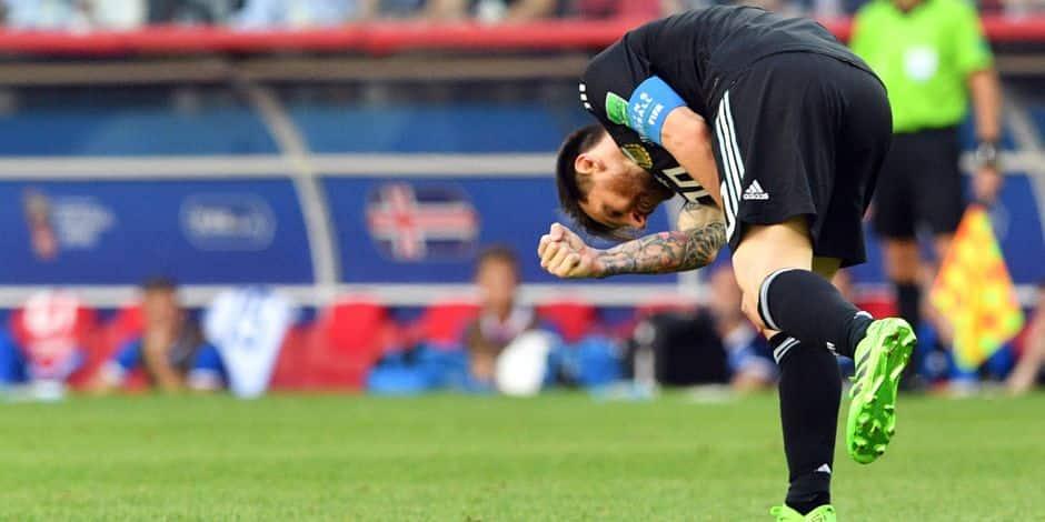 Mondial 2018: l'Argentine et Messi tenus en échec par l'Islande