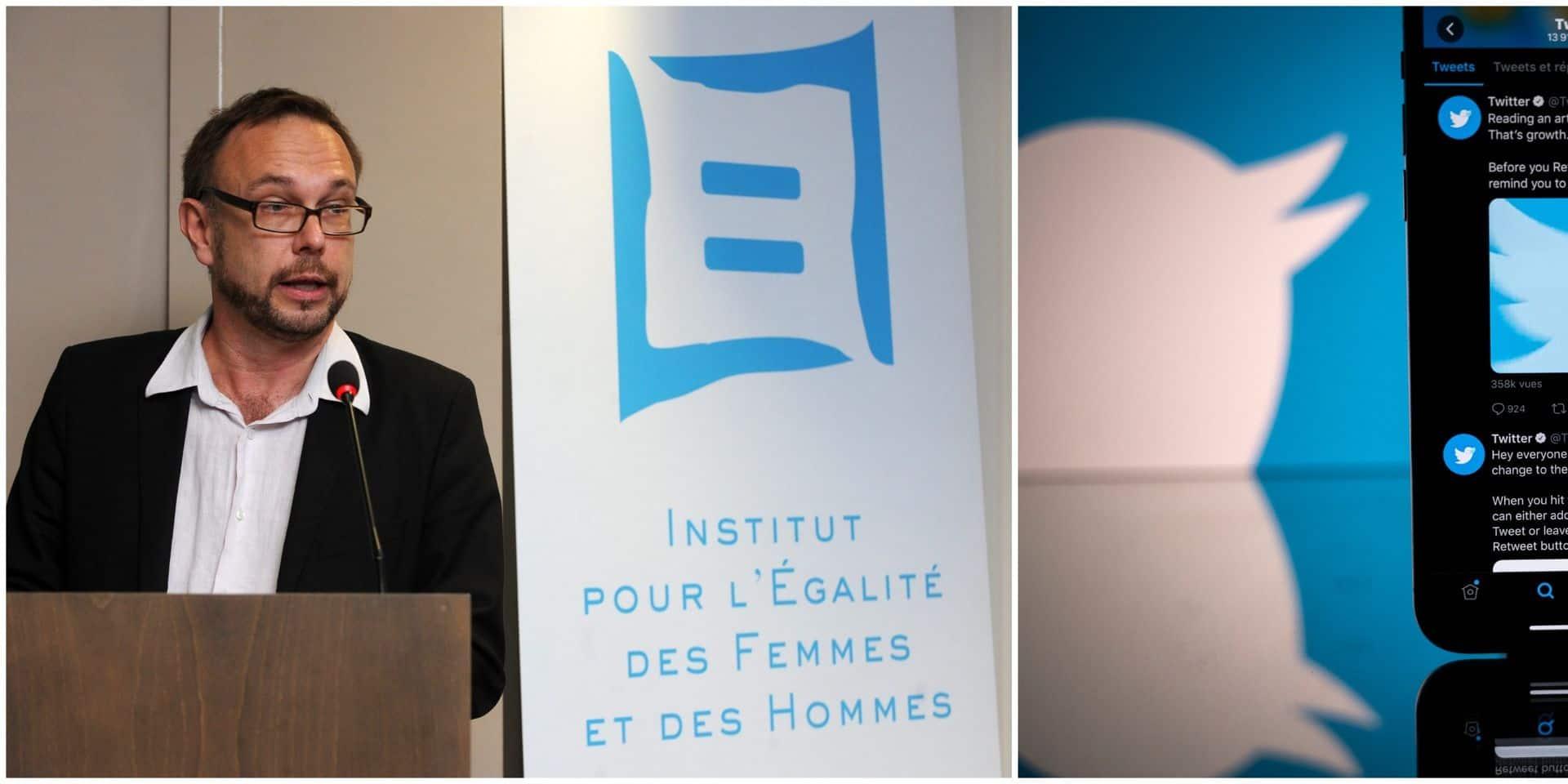 L'Institut pour l'égalité des femmes et des hommes dépose plainte contre Twitter