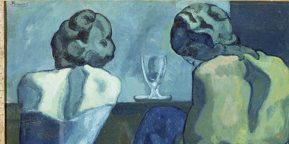 Pablo Picasso en bleu, en rose et en chefs-d'oeuvre - La Libre
