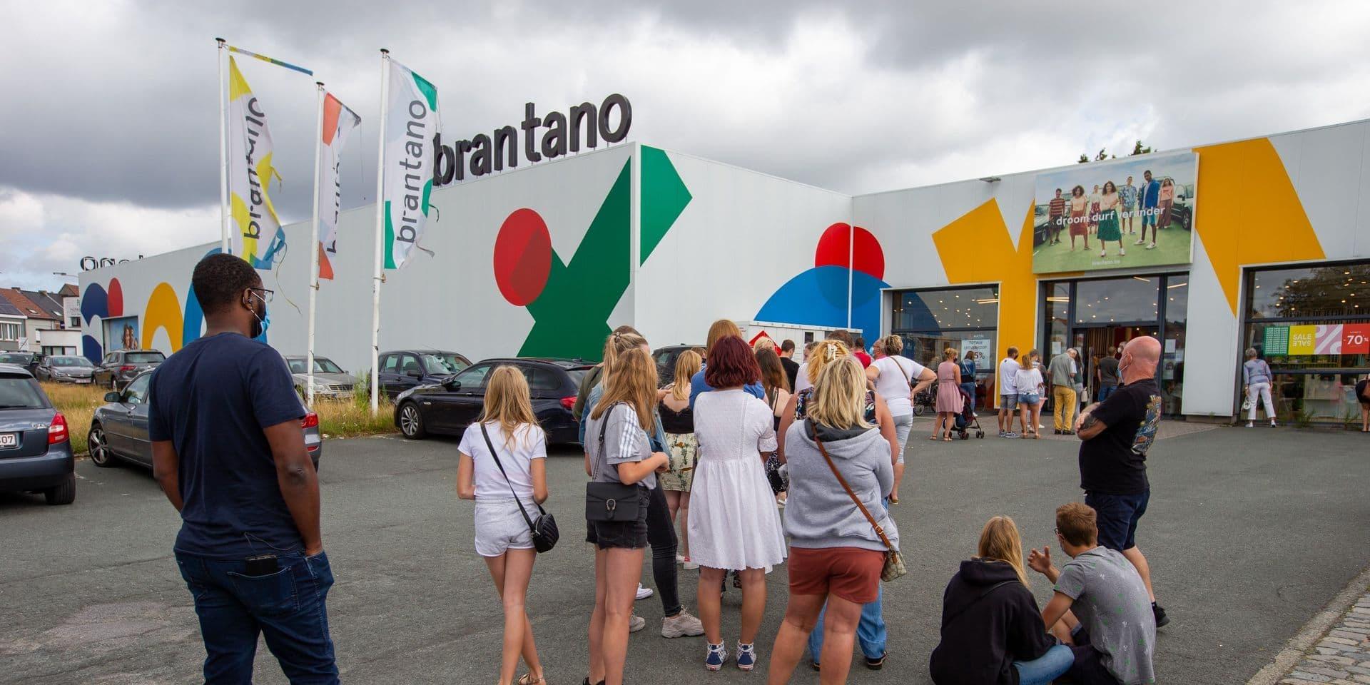 """Malgré la pagaille, la société Moyersoen estime que le premier jour de liquidation chez Brantano """"s'est bien passé"""""""