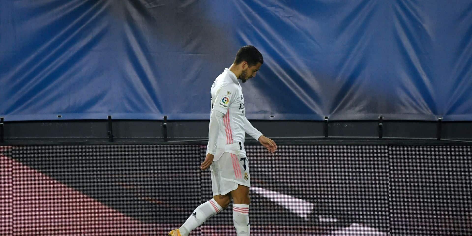 Eden Hazard absent trois semaines après sa nouvelle blessure, son année 2020 est probablement terminée