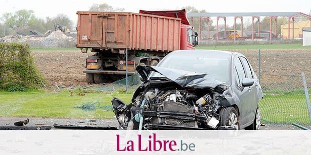 Accident grave rue du Fort à Cerexhe-Heuseux .