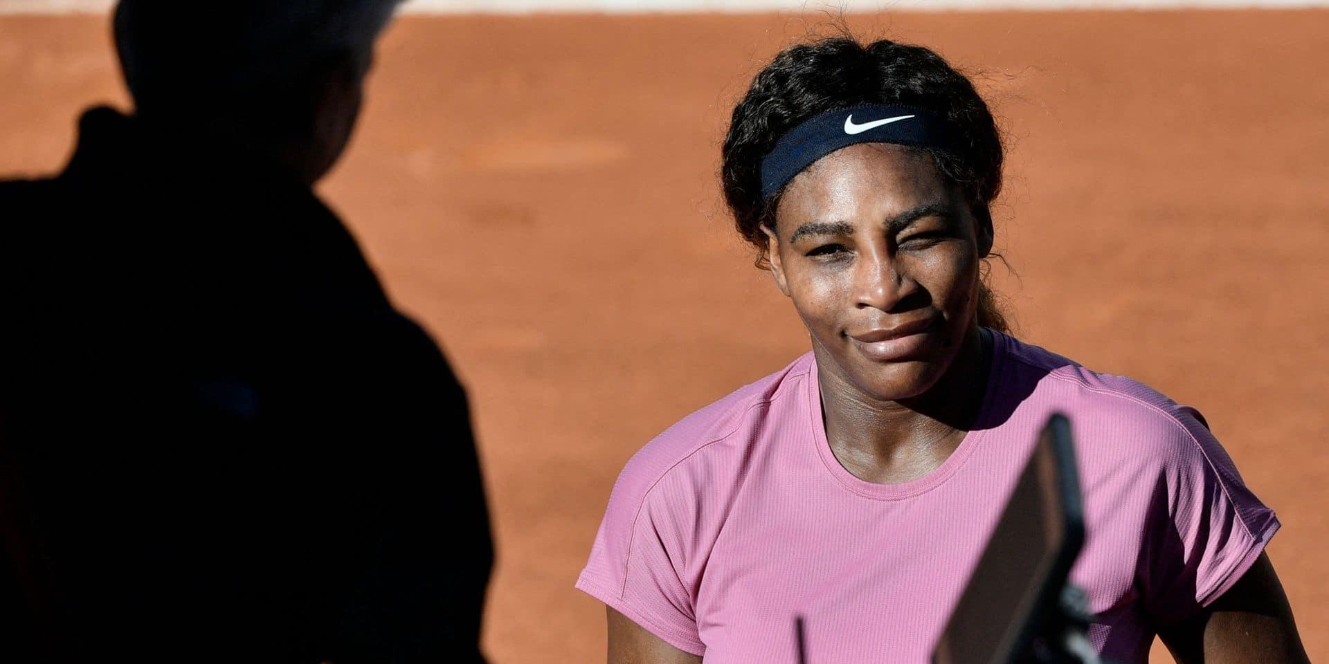 WTA Parme: Serena Williams se défait facilement de la jeune Lisa Pigato