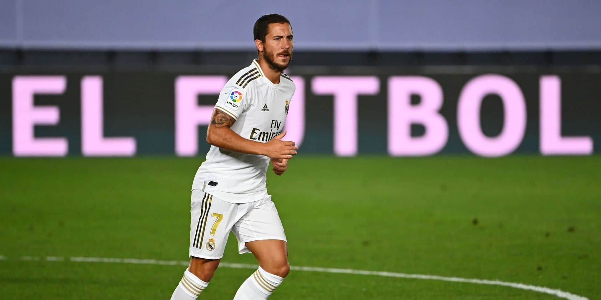 """Bonne nouvelle pour Hazard, qui devrait retrouver du temps de jeu lors du match pour le titre: """"Il ne ressent plus de gêne et se sent bien"""""""