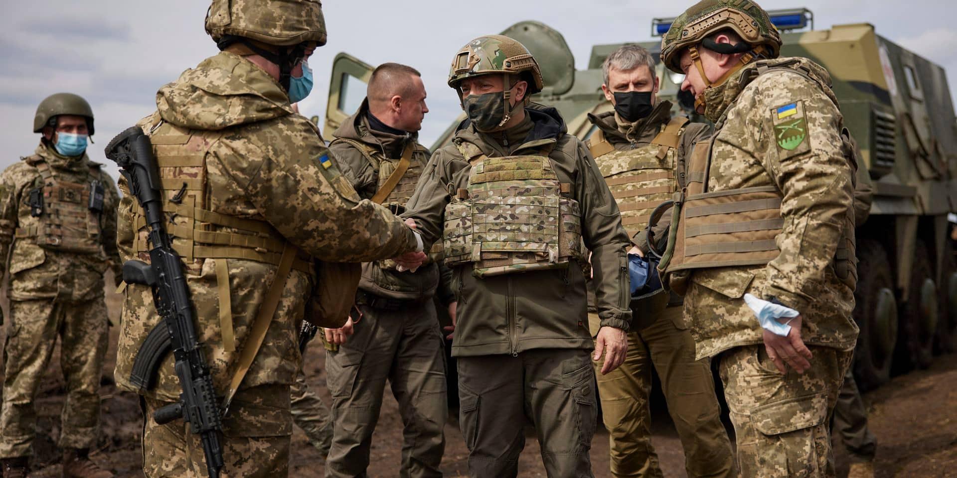 """L'Otan appelle la Russie à retirer ses troupes massées à la frontière ukrainienne : """"Elle doit cesser toute escalade immédiatement"""""""
