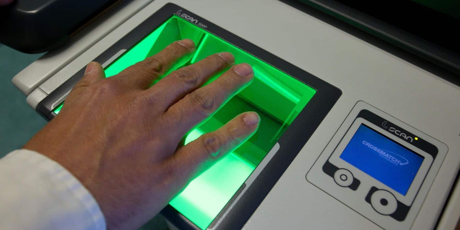 La Belgique épinglée pour son usage des données biométriques