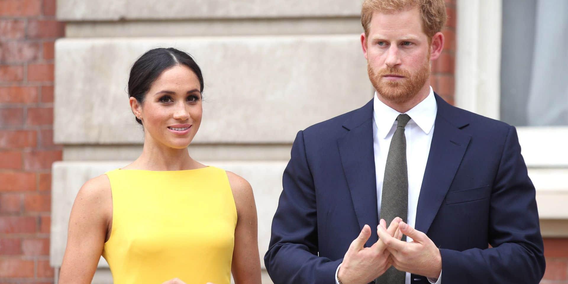 Le prince Harry et Meghan Markle ne passeront pas Noël avec la reine Elizabeth II et le reste de la famille royale