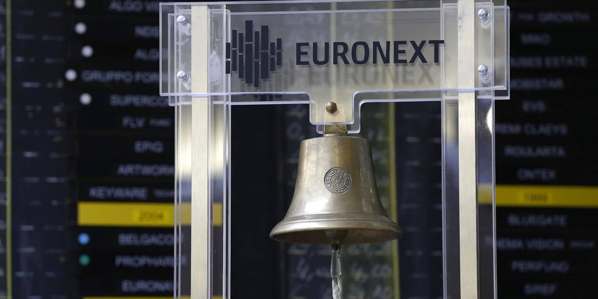 Les Bourses européennes clôturent dans le vert, le BEL 20 repasse au-dessus des 3.400 points
