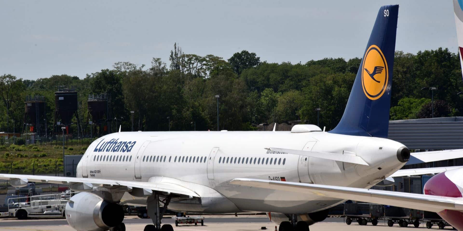 Les syndicats de Lufthansa appellent l'Europe à approuver l'aide allemande sans conditions