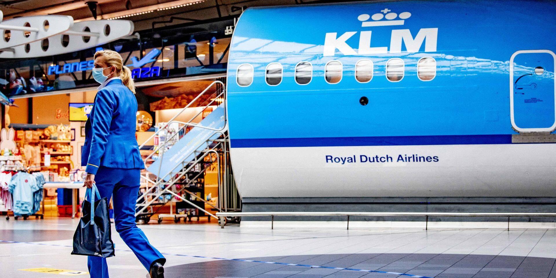 KLM annonce jusqu'à 1000 licenciements supplémentaires