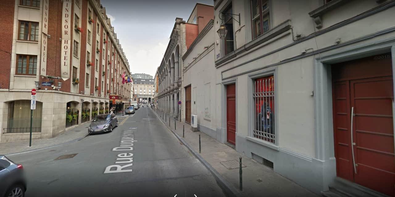 Six personnes intoxiquées ont été évacuées par ambulance d'une boîte de nuit bruxelloise