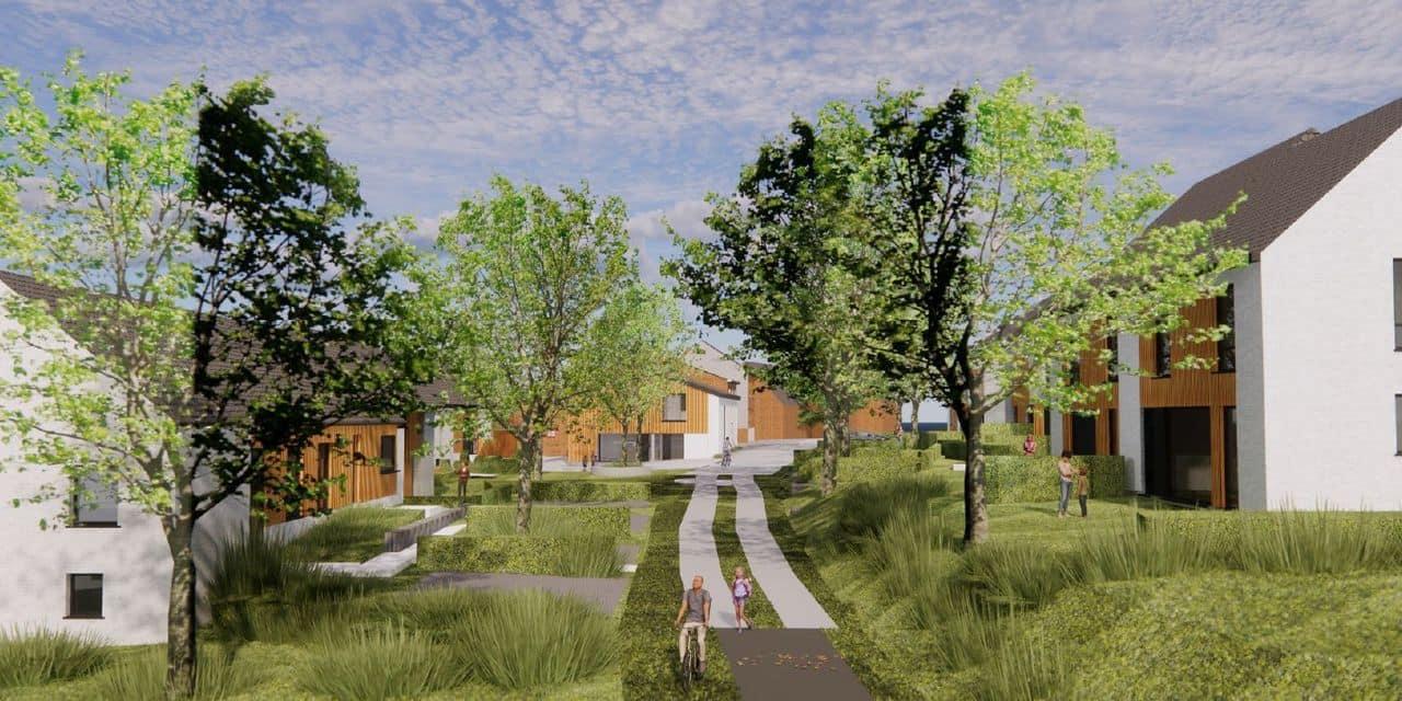 Le Temps d'M, un habitat groupé intergénérationnel qui s'efforce de vivre en accord avec la nature à Villers-la-Ville