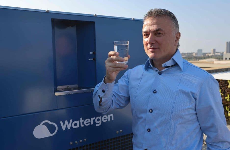 Le PDG de Watergen, l'homme d'affaires russo-israélien Michael Mirilashvili.
