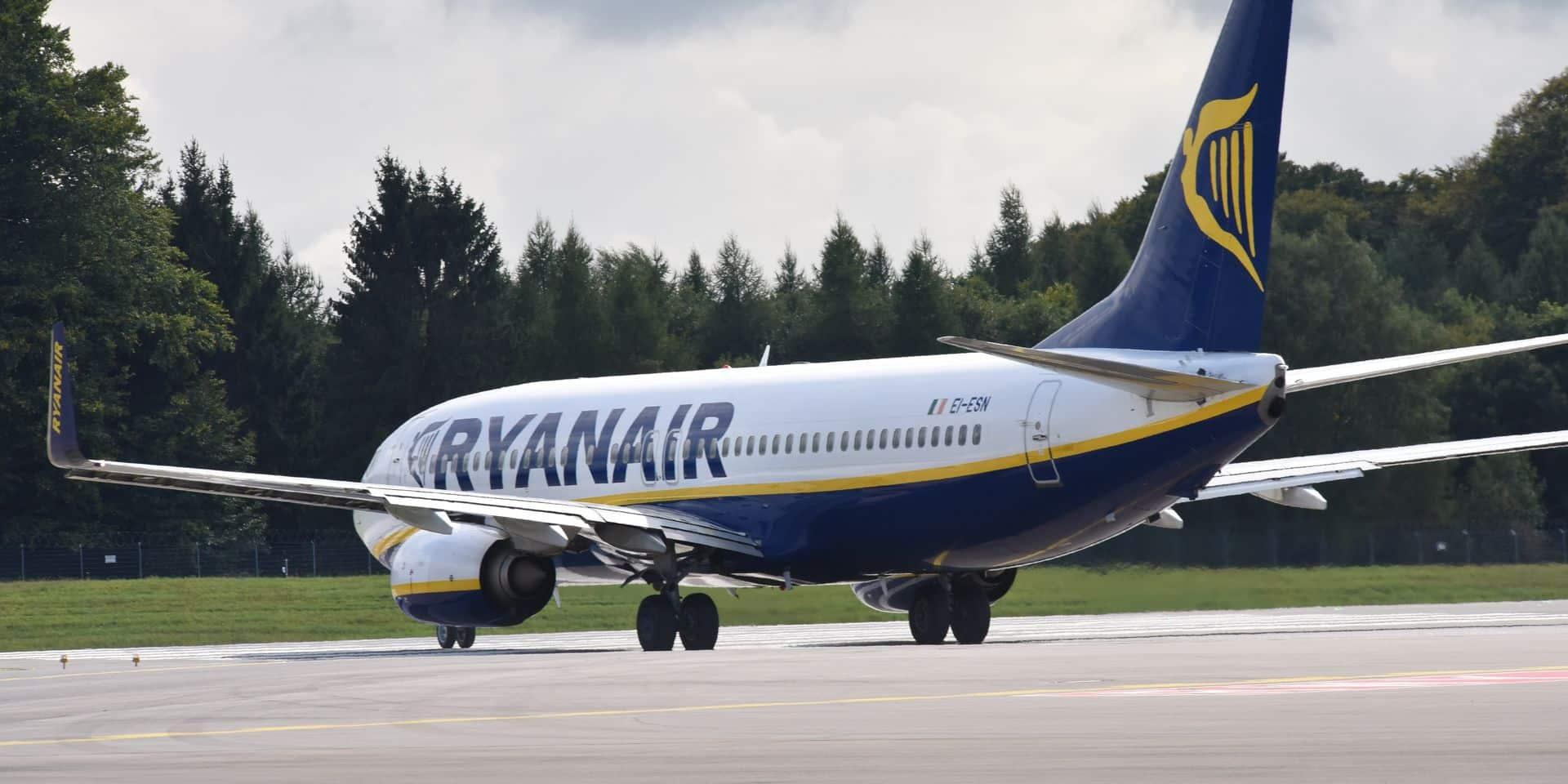 Les pilotes de Ryanair seront en grève le 10 août en Belgique