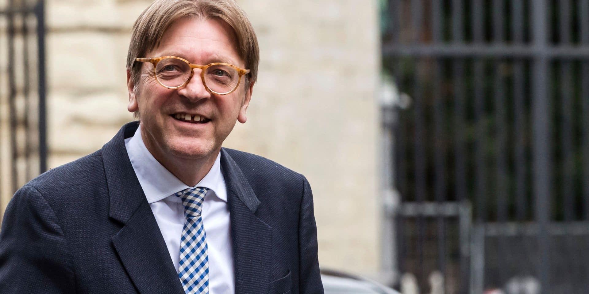 Guy Verhofstadt quitte le conseil communal de Gand