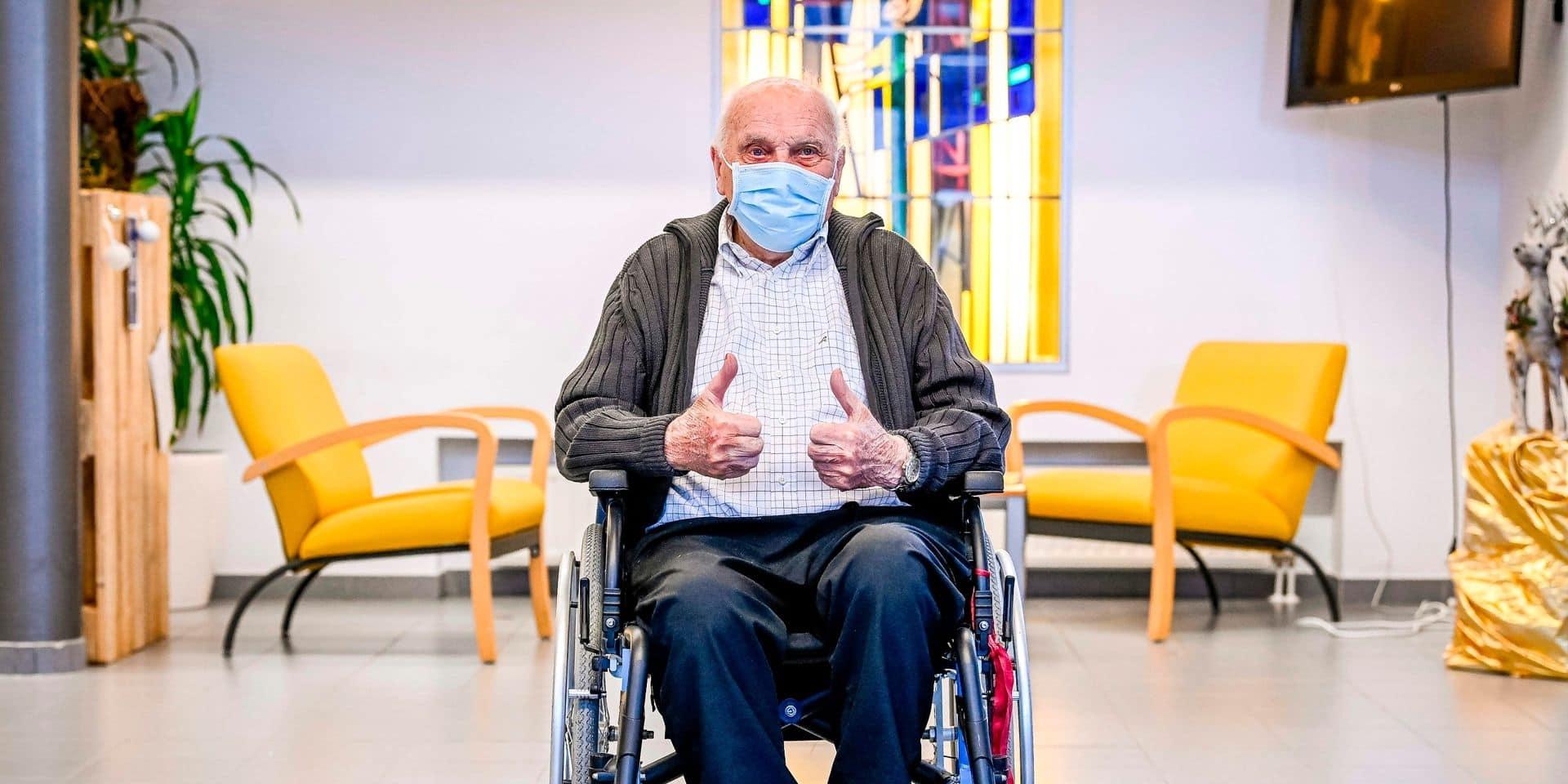 Le premier Belge vacciné contre le coronavirus est décédé