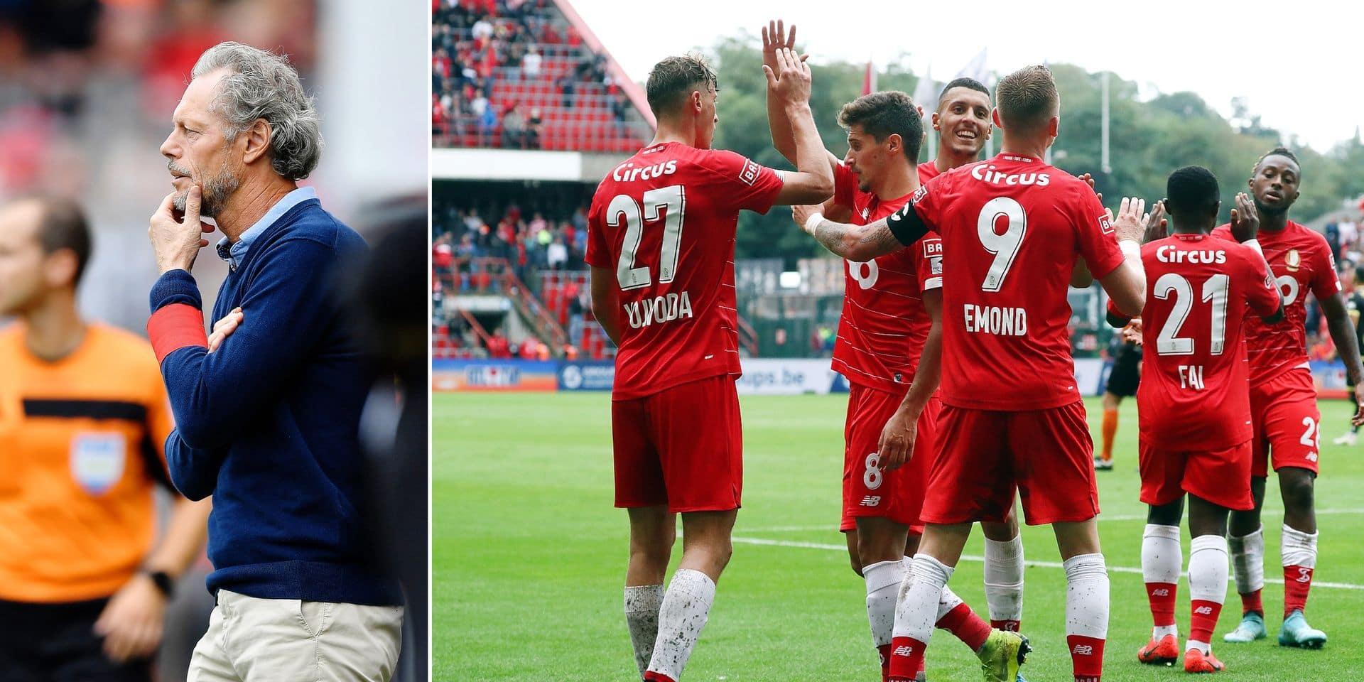 Le Standard mise sur la rotation avec l'Europa League en tête