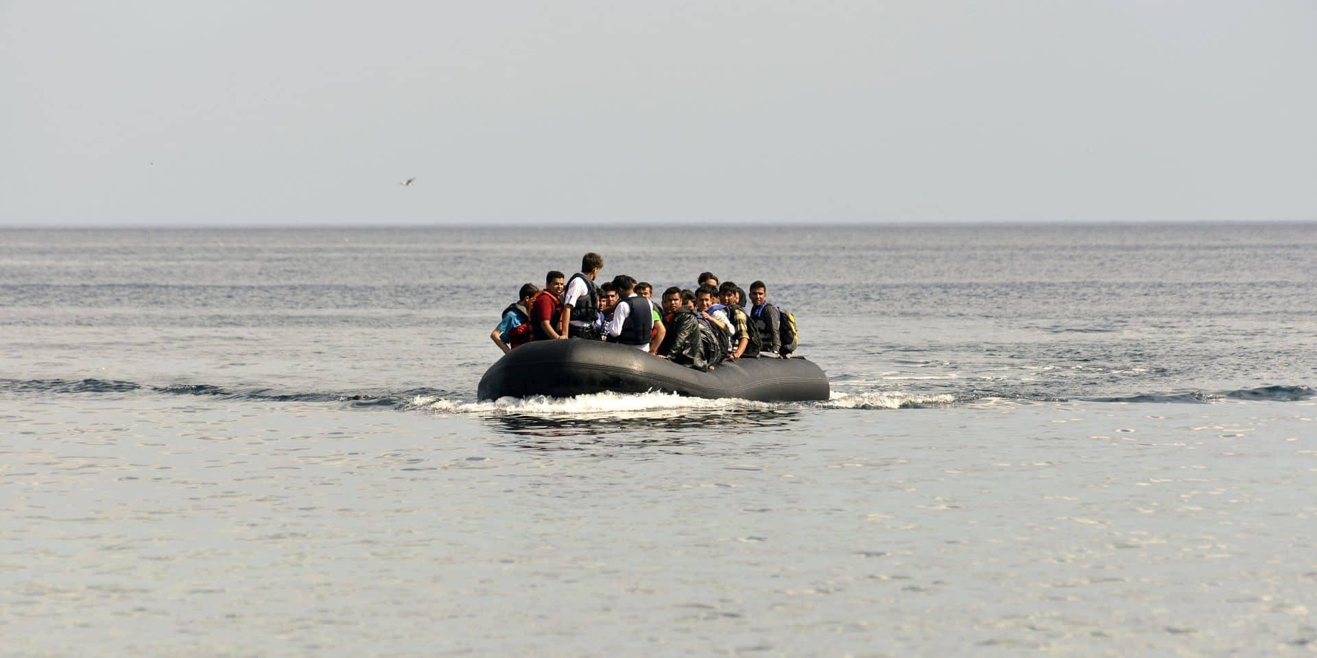 Quarante-neuf réfugiés secourus au large de la côte d'Oostduinkerke