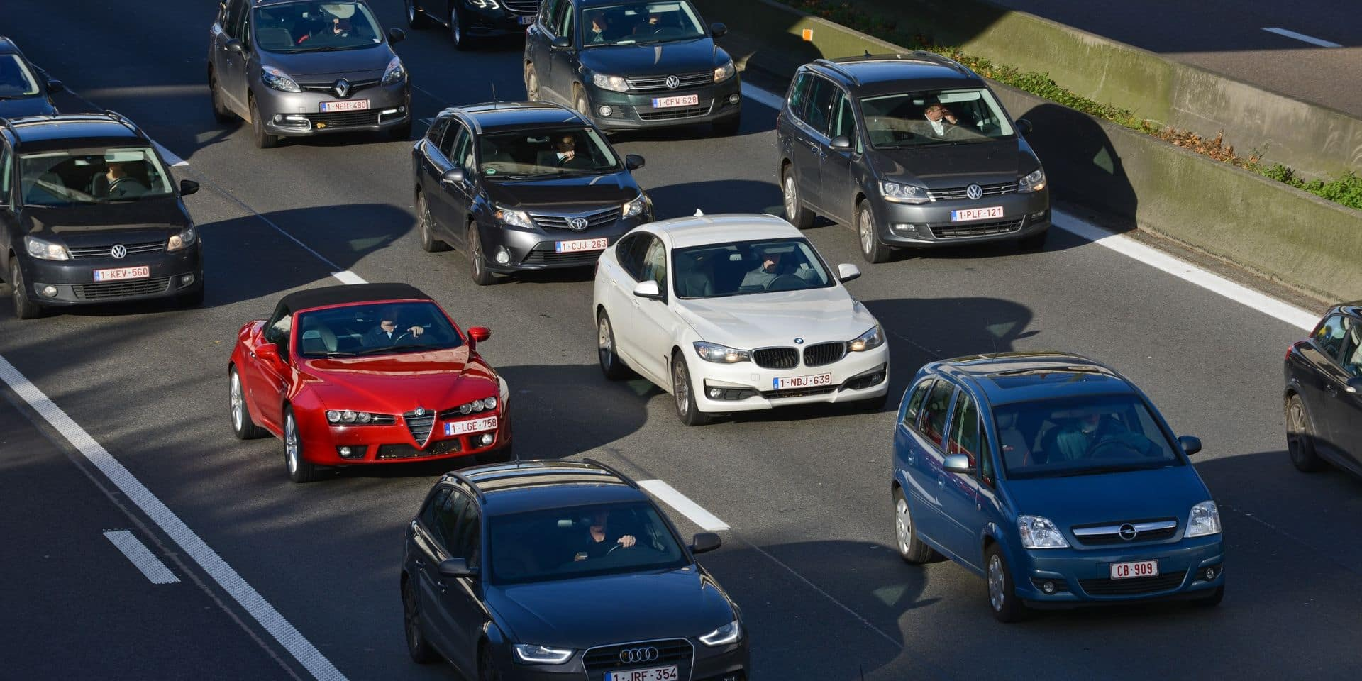 Les automobilistes devront dégager un couloir de secours en cas de file