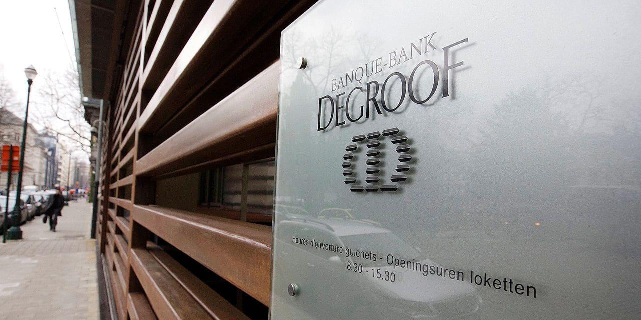 Une procédure de sélection a été lancée pour le poste de CEO de Degroof Petercam.