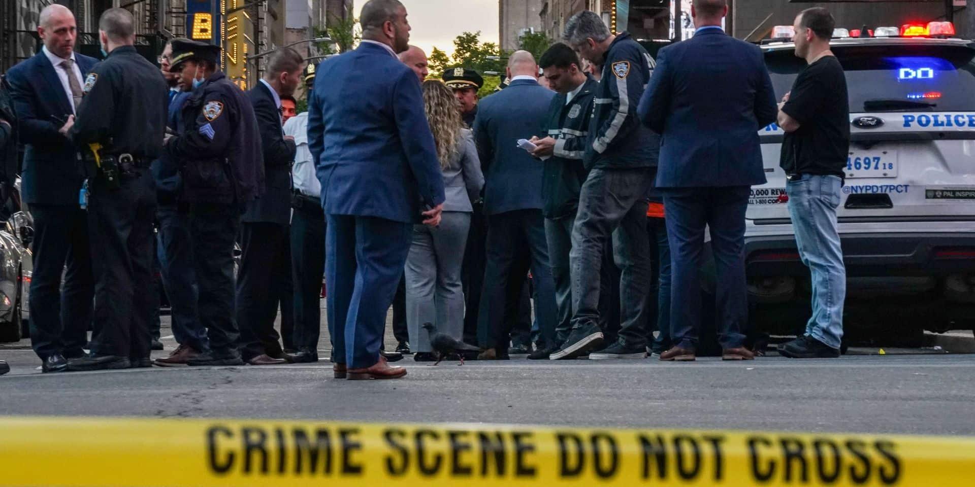 Une fusillade à Times Square fait trois blessées dont une enfant