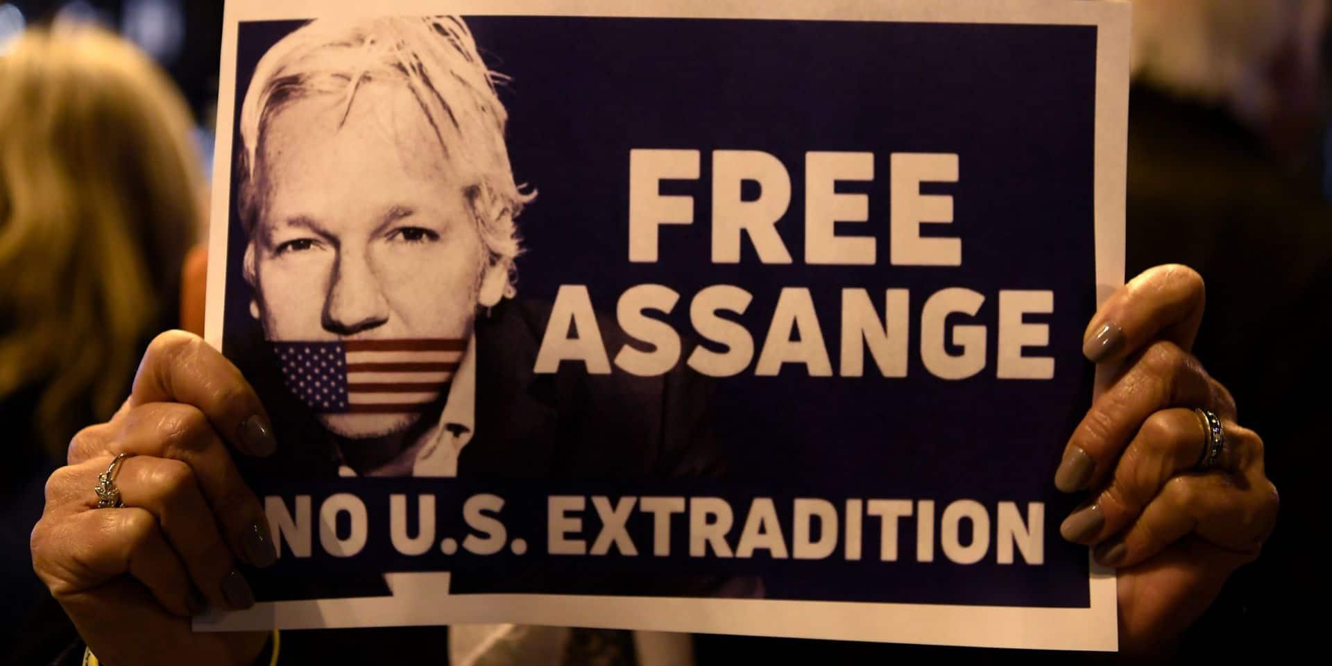Début du procès de Julian Assange qui risque jusqu'à 175 ans de prison