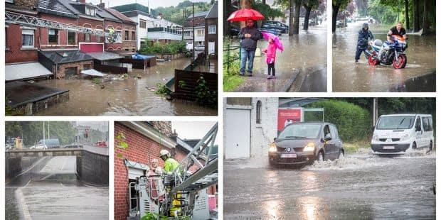 Terribles inondations en région liégeoise: toutes nos photos - La Libre