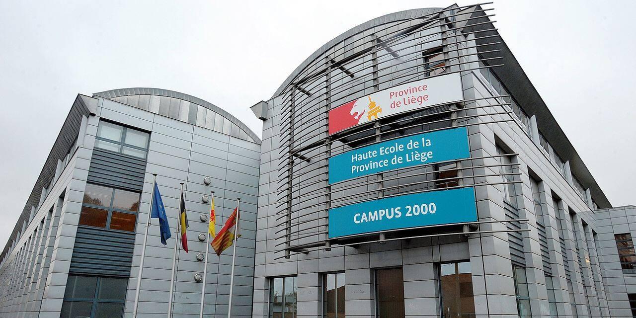 Vue extérieure de la Haute école de la province de Liège