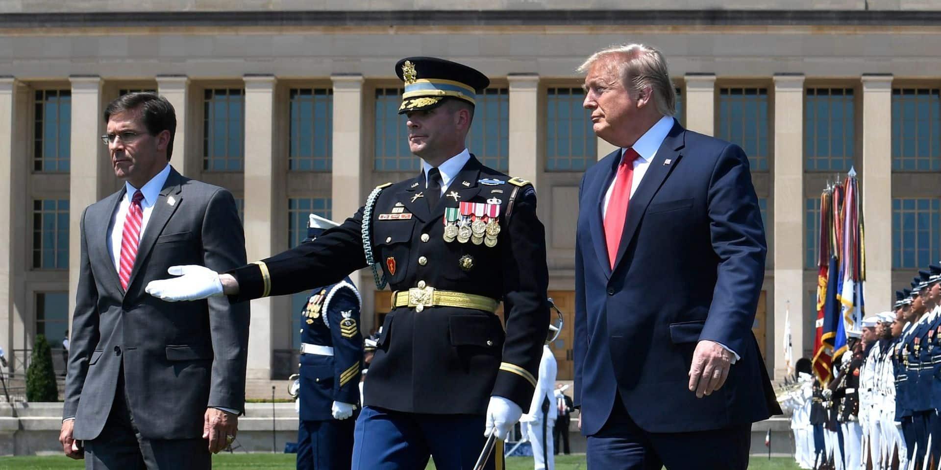 Donald Trump éjecte son secrétaire à la Défense