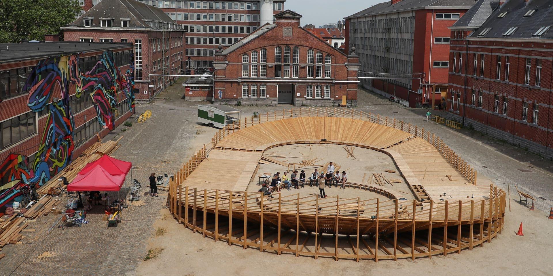 Une nouvelle avancée pour le projet Usquare, dans les casernes d'Ixelles