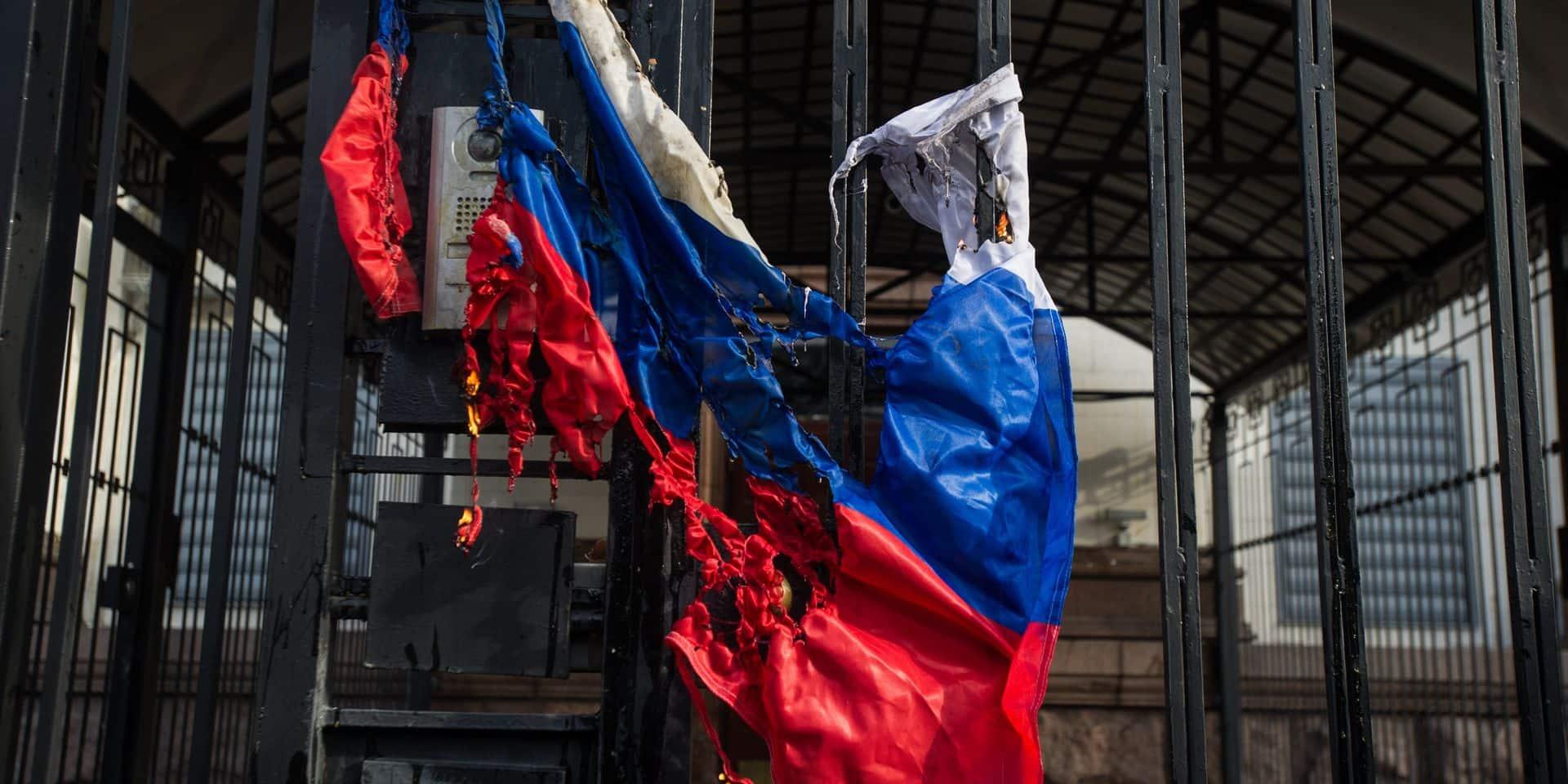 À Moscou, la police utilise des methodes originales pour couper les manifestations de l'opposition