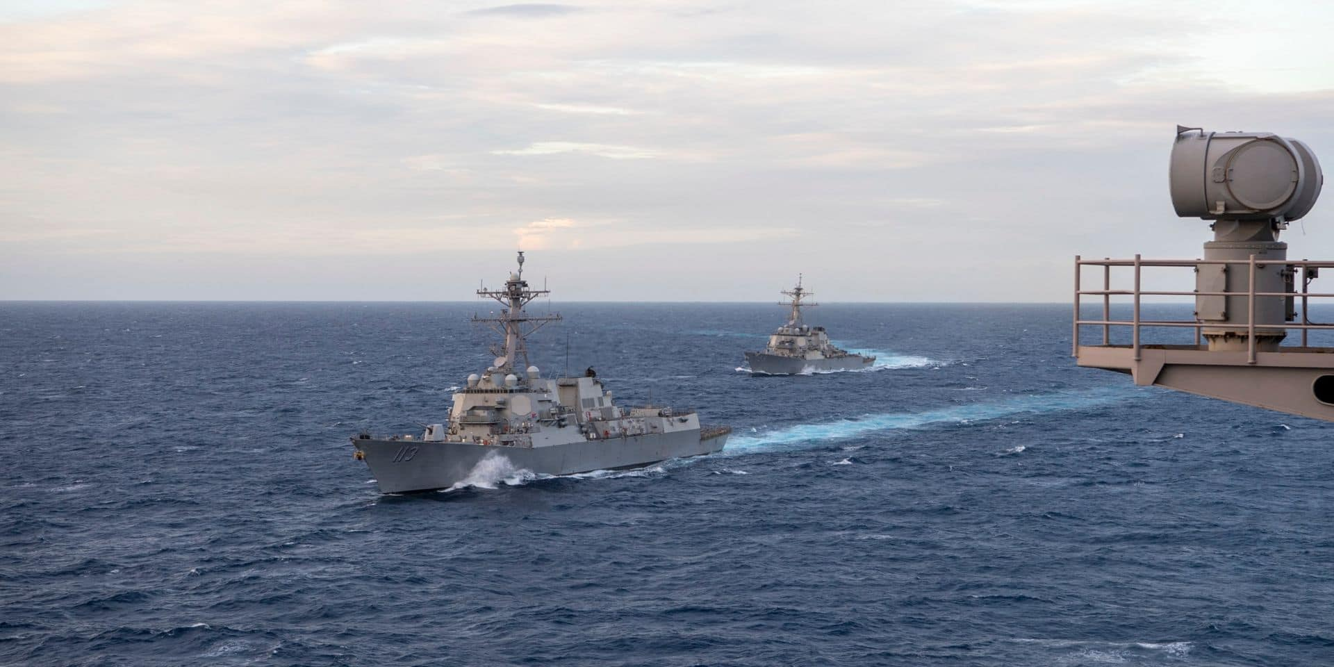 Le déploiement prévu de deux navires de guerre américains en mer Noire annulé
