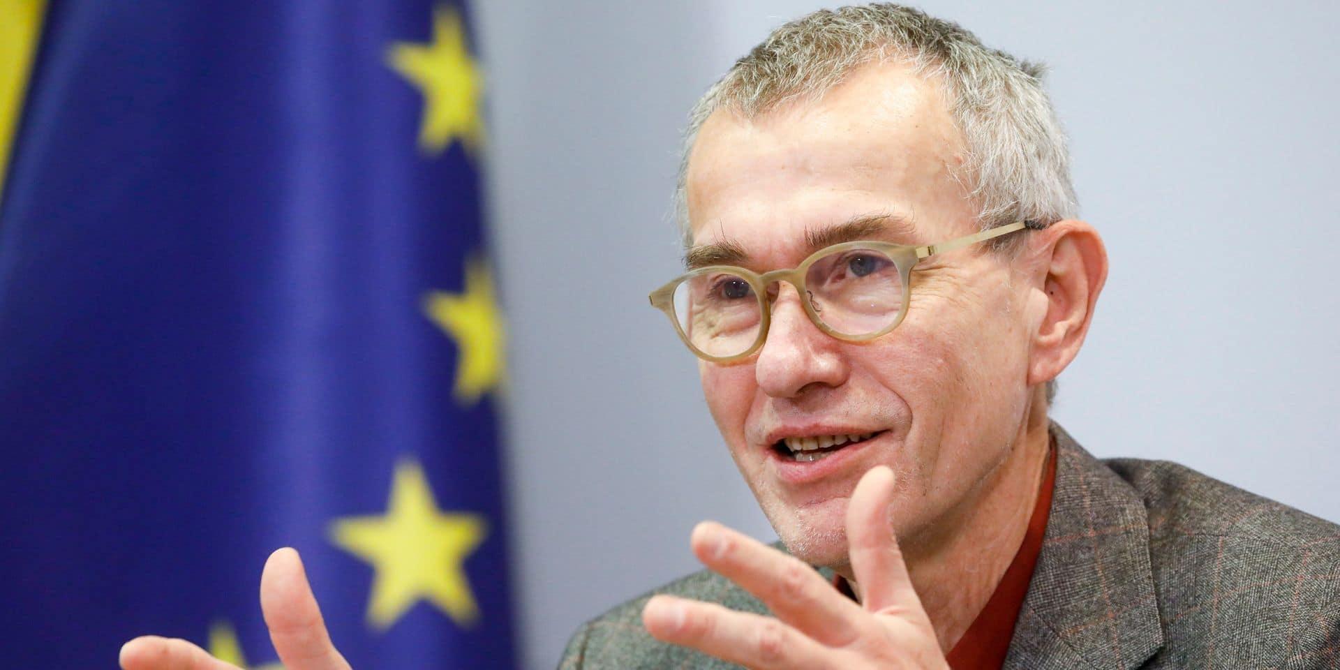 Frank Vandenbroucke (SP.A), ministre de la Santé.