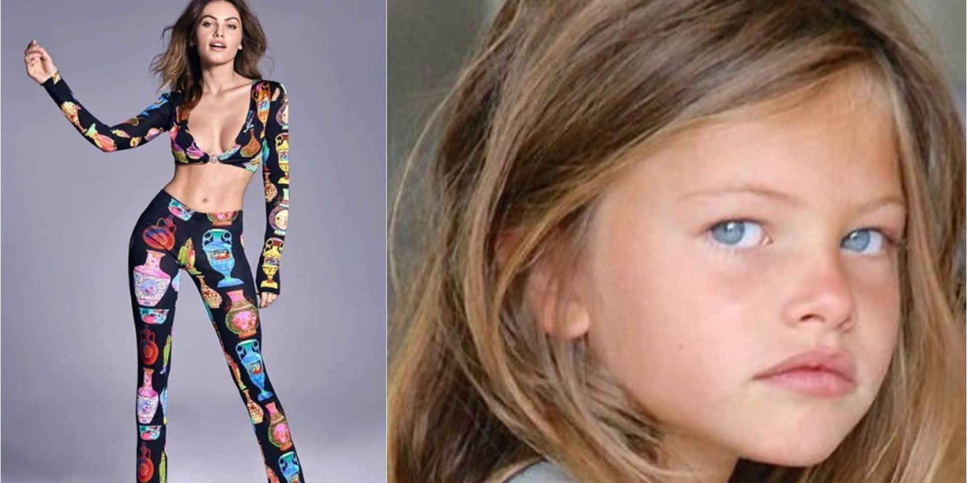 """Thylane Blondeau, 18 ans, mannequin fut élue """"la plus belle petite fille au monde"""""""