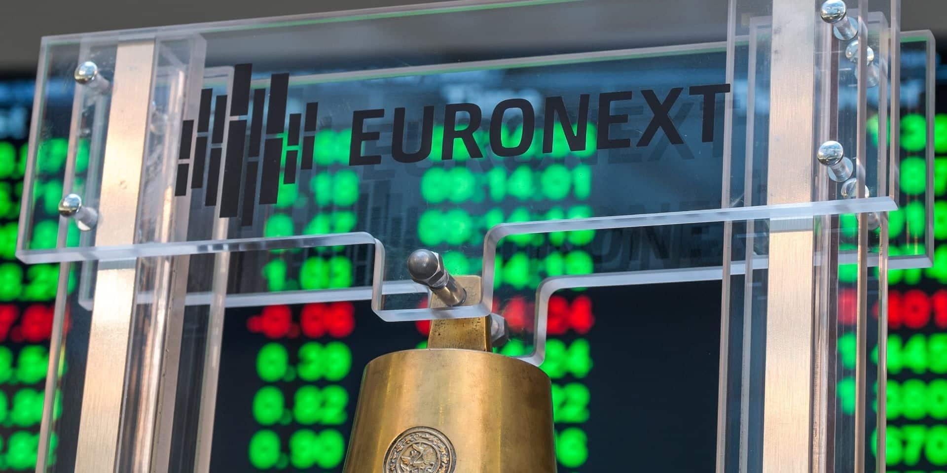 Les bourses européennes plongent dans le rouge, Bel 20 en tête